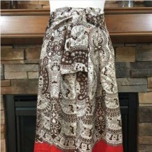 Talbots Silk handkerchief skirt